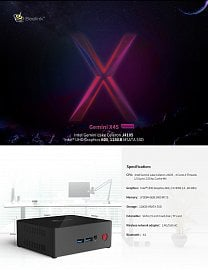 Model X45 Premium – tentýž procesor, úložiště je ale SSD disk