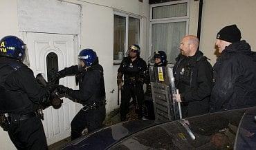 Policejní razie (ilustrační foto).