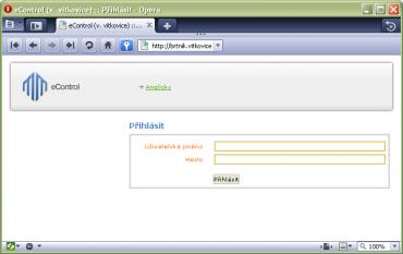 <p>Takto vypadá webová stránka, na níž došlo k uložení jména a hesla. Kolonky formuláře jsou olemovány žlutou barvou.</p>