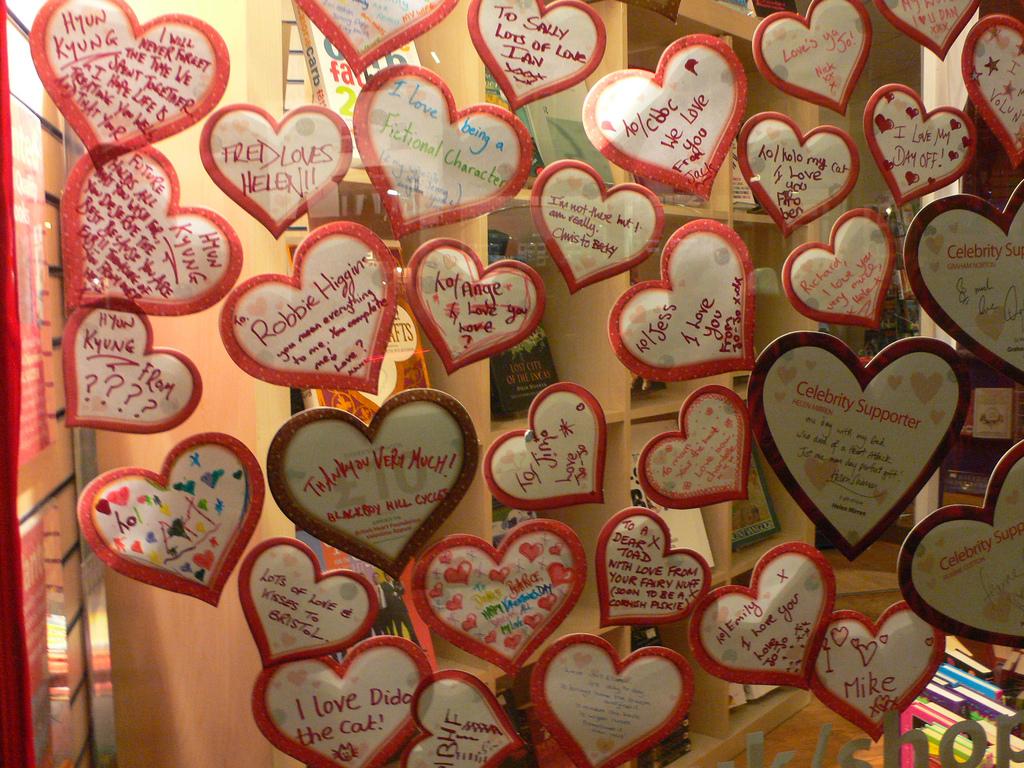 Valentýnská výloha