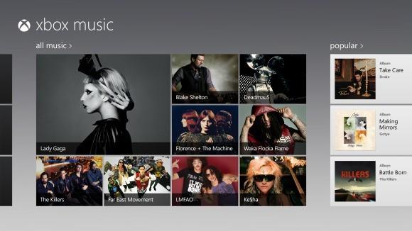 Xbox Music Microsoft
