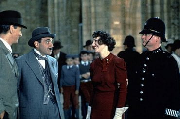 Hercule Poirot - Dáma se závojem.