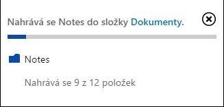 V současnosti umí na OneDrive nahrávat složky pouze internetový prohlížeč Google Chrome