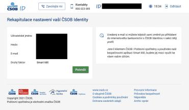 Povinné použití ČSOB Smart klíče v novém internetovém bankovictví ČSOB.