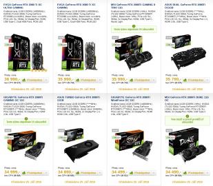GeForce RTX 2080 Ti v předprodeji