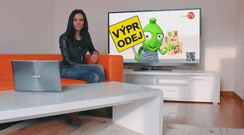 Ukázka z promo spotu představujícího stanici Inzert TV.