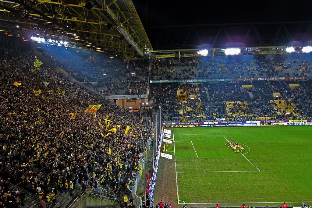 Wi-Fi síť Borussia Dortmund