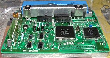 Modernější verze ECU JECS z konce 90. let – využívá na zakázku vyráběné integrované mikrokontroléry.