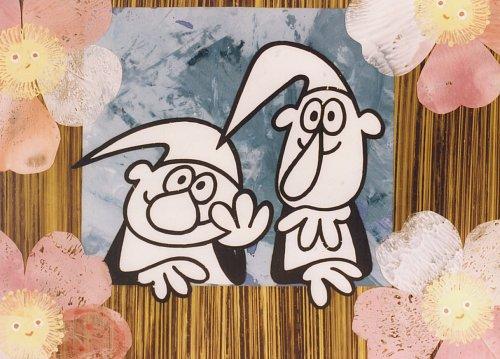 Barevné provedení původně černobílého večerníčku Československé televize