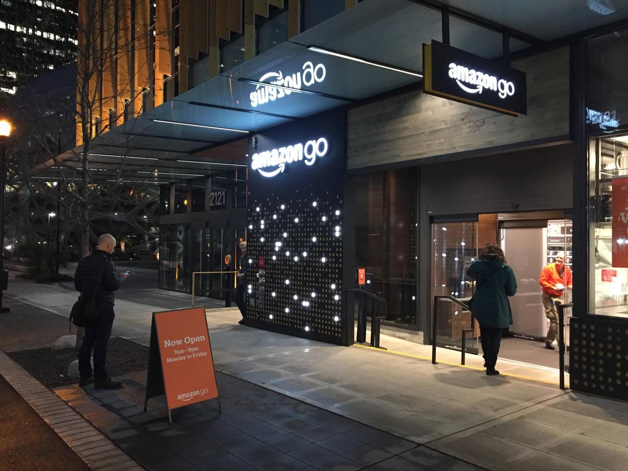 Obchod budoucnosti Amazon Go