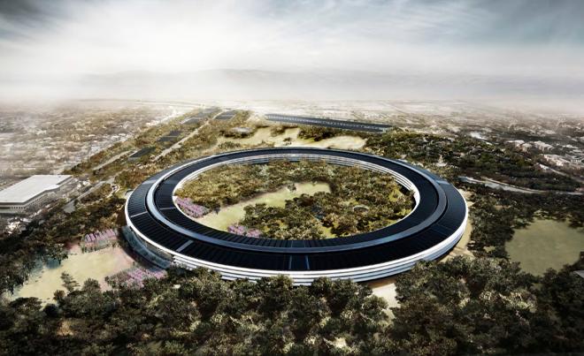 Jak bude vypadat nové sídlu Applu? Podívejte se