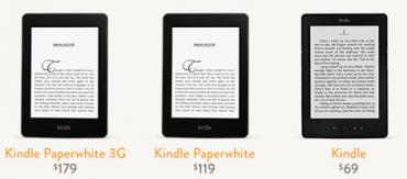 Nový Kindle Paperwhite