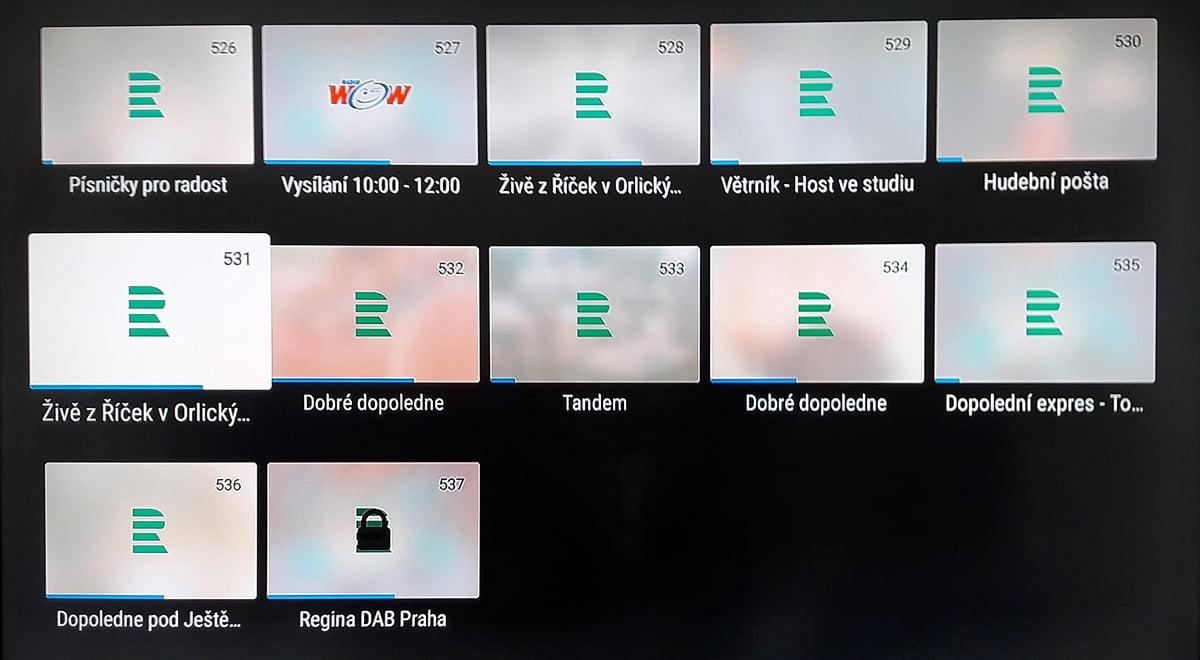 SledováníTV - Rádio/TV