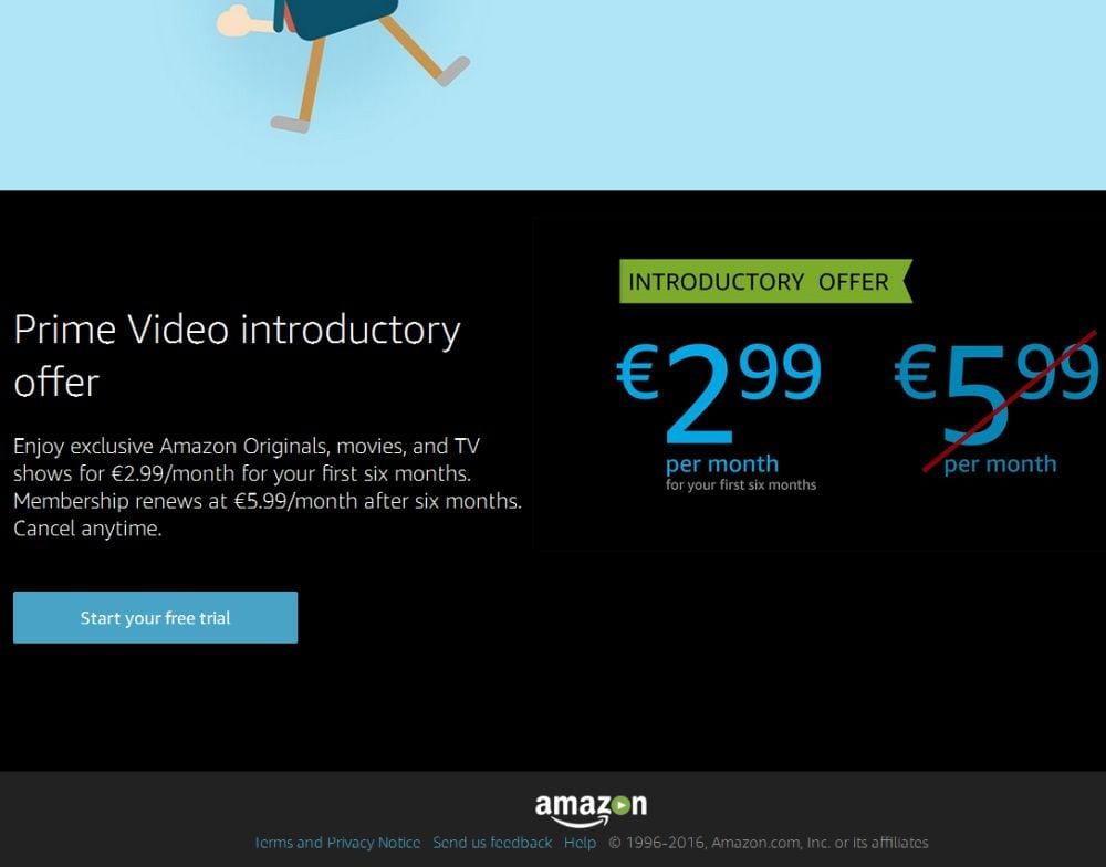 Amazon Prime Video dostupné i v ČR a SR