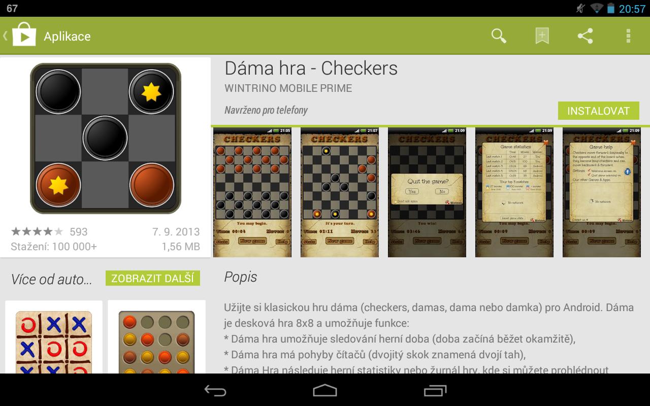 Novinka v Google Play