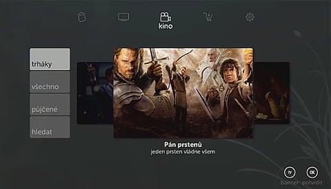 Kuki TV GUI