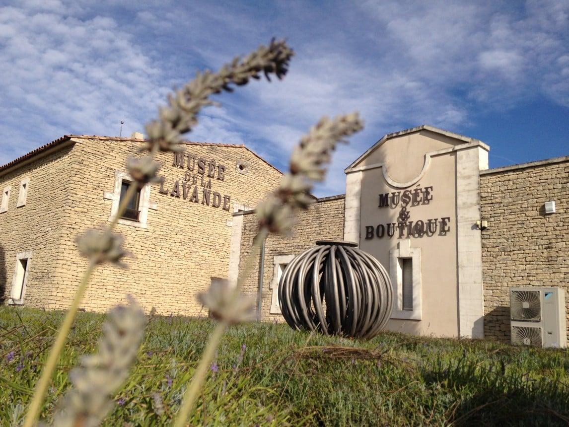Muzeum levandule ve francouzském Provence