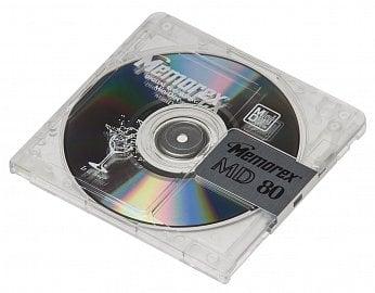 Minidisc, magneto-optické médium pro digitální záznam zvuku