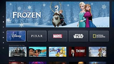 Aplikace Disney+ pro Smart TV