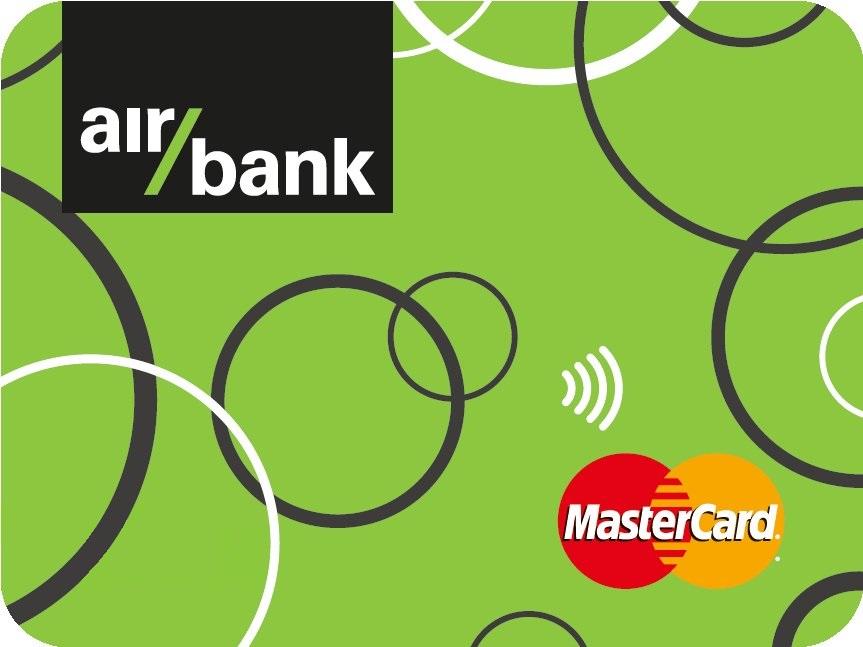 Air Bank platební nálepka