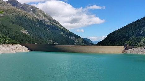Schlegeis, Zillertal, Rakousko. (Xiaomi Mi 8)