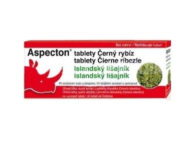Aspecton tablety na kašel černý rybíz