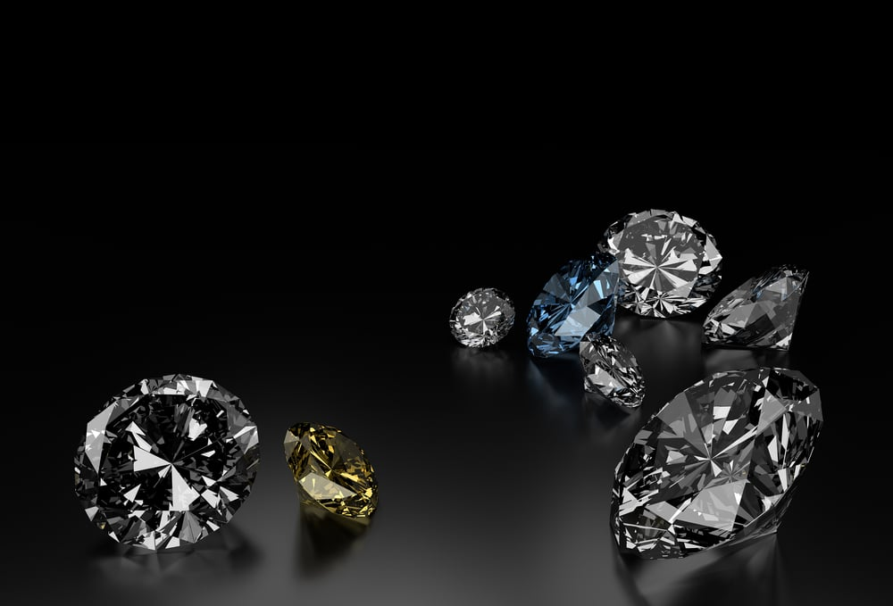 diamant, briliant, šperk,
