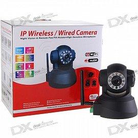Bezpečnostní IP LAN/WiFi kamera s nočním viděním za necelých 65 dolarů.