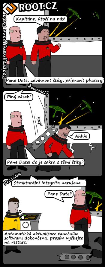 Podprogramy pana Data
