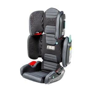 Tato sedačka měla potíže s ochranou proti bočnímu nárazu