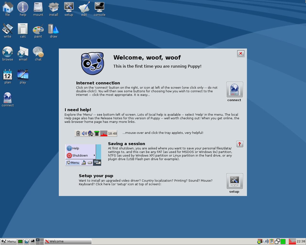 "Puppy Linux 5.5 ""Slacko"""