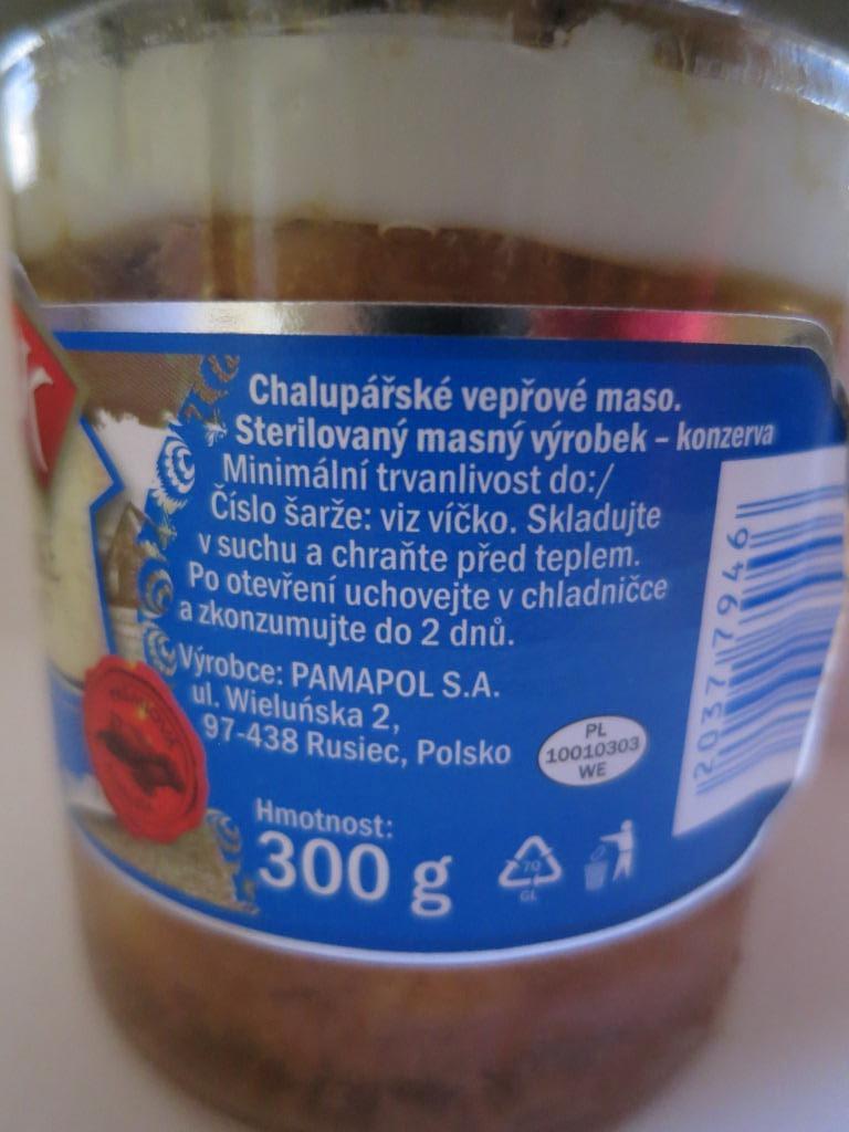 Falšované masné produkty v Lidlu