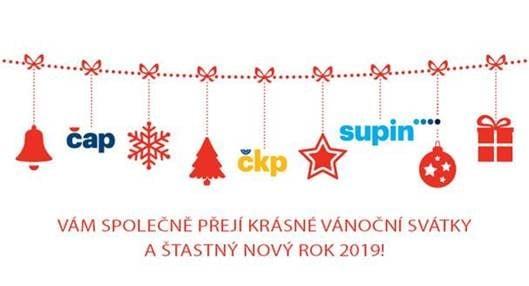 Vánoční přání 2018 a PF 2019