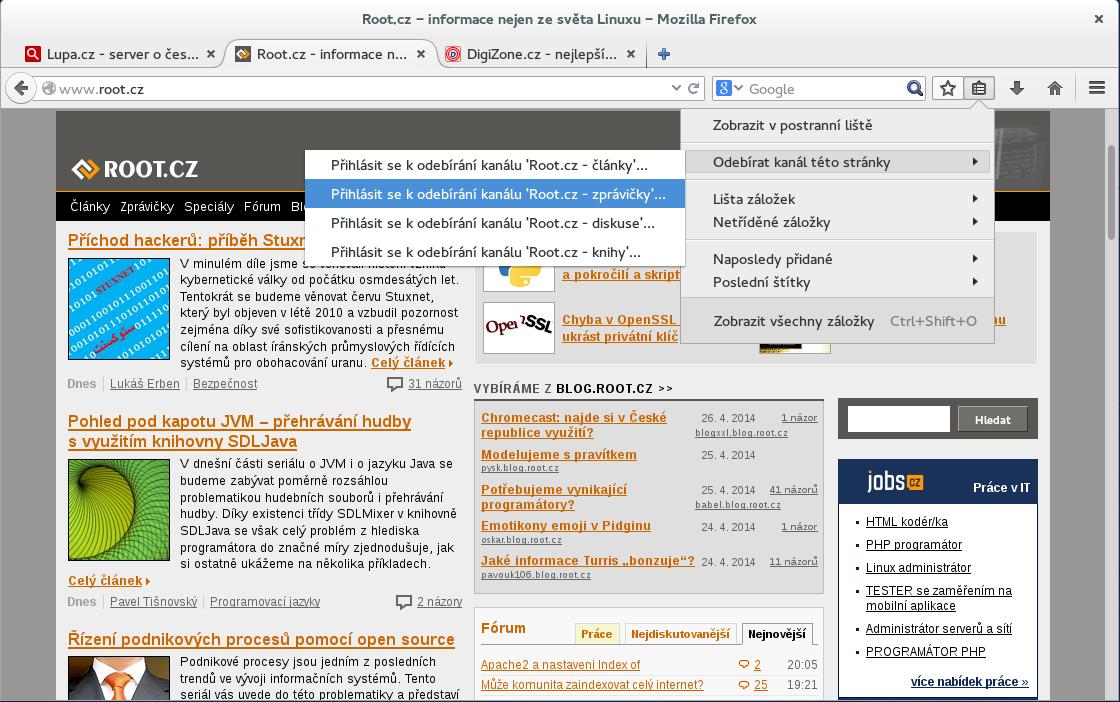 Firefox 29 - Australis (Stable)