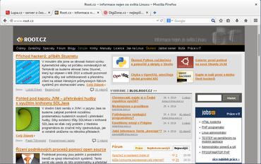 Firefox 29 & Australis v Gnome.