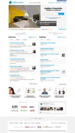 Homepage prošla za dva roky desítkami změn. Zjednodušila se a zpřehlednila. Klíčové bylo uživatelské testování