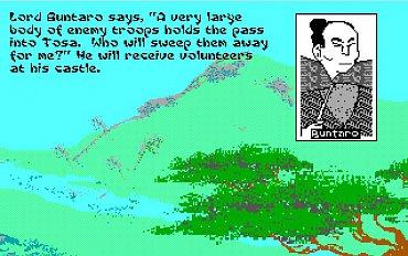 Sword of the Samurai - obrázky ze hry.