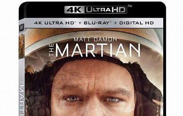 """The Martian 4K Ultra HD"" je k dispozici u Fox Home Entertainment v předobjednávce v řadě audio verzí."