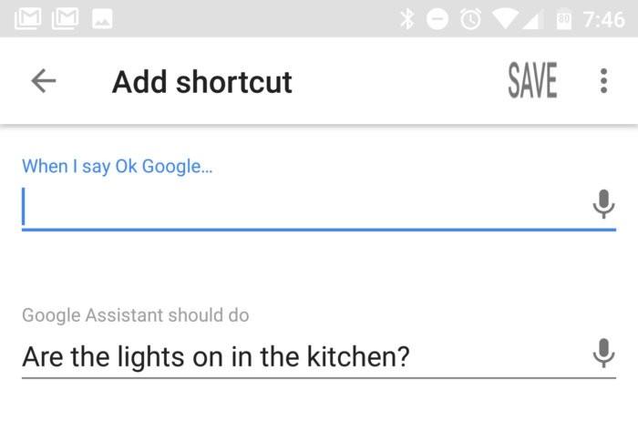Přidání zástupce v Asistentovi Google