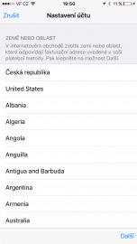 Přihlaste do iTunes a App store s novým UK ID a změňte region ve svém iPhone na UK.