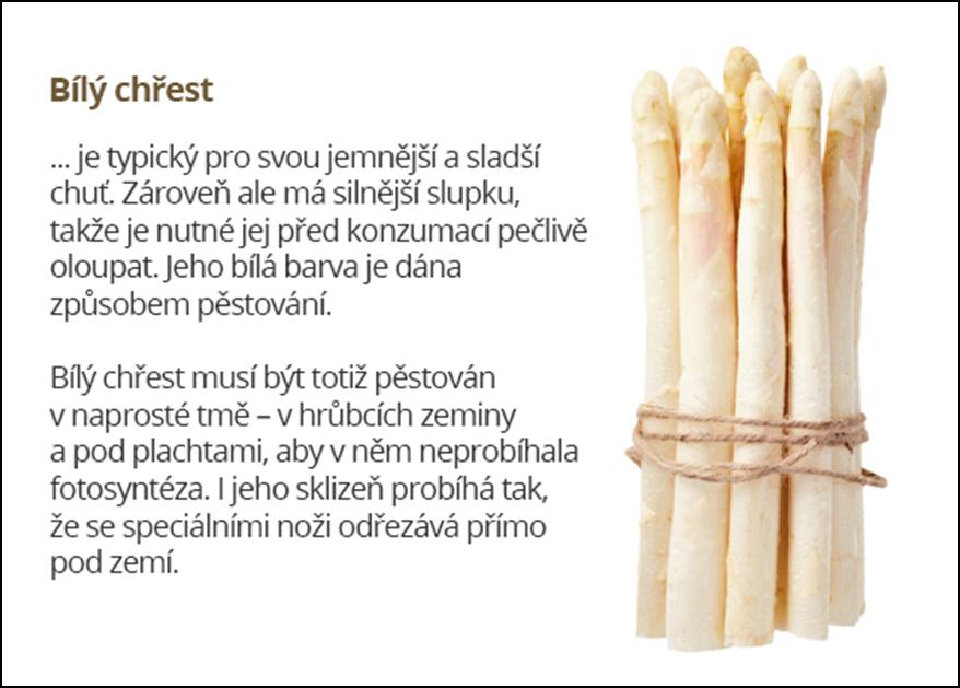 Český chřest na Rohlík.cz