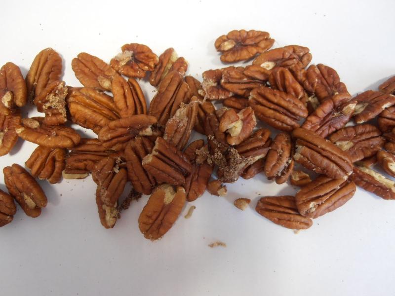 Pekanové ořechy jádra
