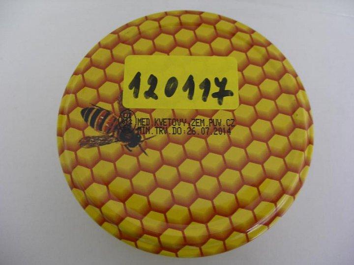 Včelí med květový nektarový