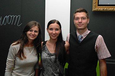 Martina Hejduková, Martina Činková a Ruben Pippal
