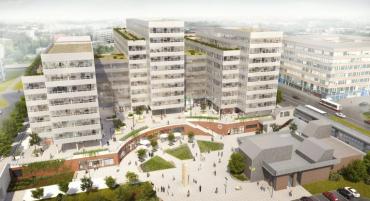 Metronom Business Center v Praze, nové sídlo tuzemské pobočky SAP.