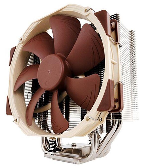 Vzdušný chladič Noctua NH-U14S je větší než průměrný větráček do počítačové skříně, nicméně vám zajistí, že váš nový procesor zůstane chladný i při přetaktování