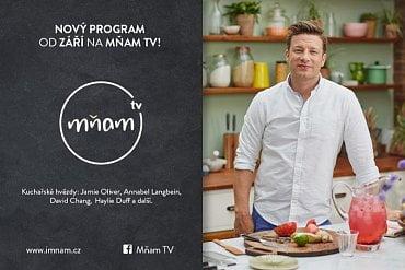 Jamie Oliver na Mňam TV, podzim 2017.