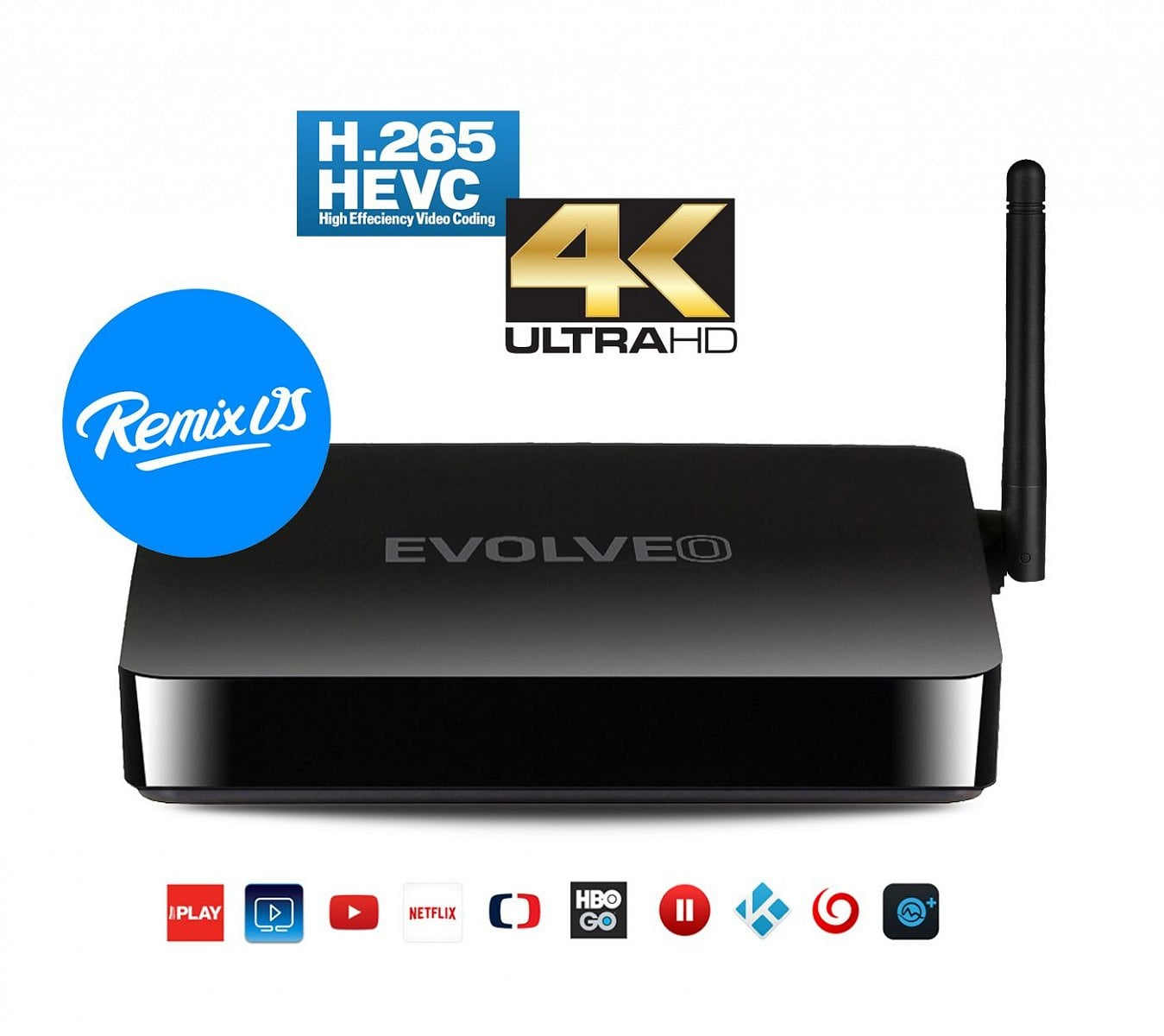 Evolveo Android Box Q5 4K RX s Remix OS