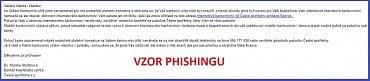 Klienti České spořitelny se v těchto dnech mohou setkat s podvodnými e-maily.