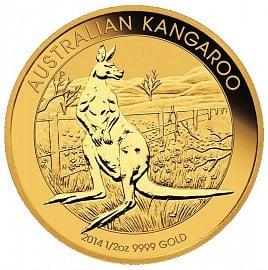 Investiční austalská mince Kangaroo.